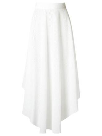 skirt women midi white cotton