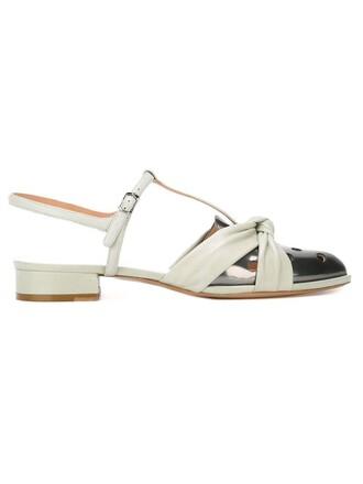 metallic sandals green shoes