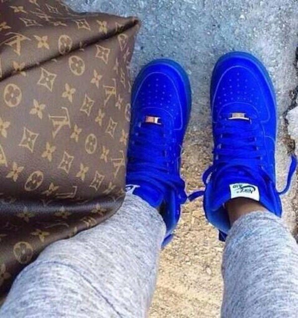 shoes nike royal blue