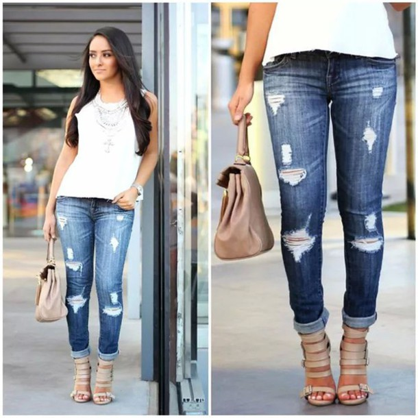 shoes strappy heels jeans high heel sandals