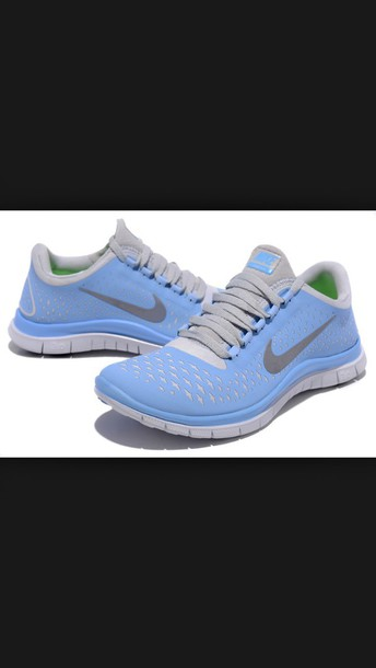 shoes blue shoes nike running shoes
