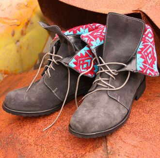 boots grey boots shoes grey shoes pattern