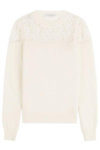 top crochet top lace wool crochet white