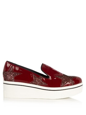 loafers red shoes