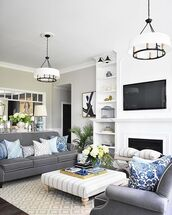 home accessory,home decor,tv,sofa,living room,table,chandeliers