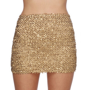 Sequin Short Skirts