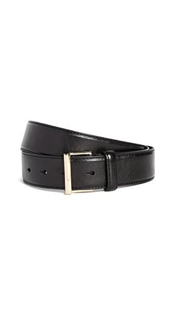 FRAME classic belt leather noir