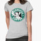 """no more coffee for you - stitch starbucks logo"