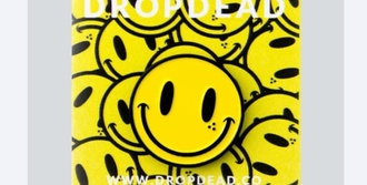 hair accessory pin enamel pin happy face happy smiley face yellow enamel