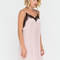 Nightie night floral lace slip dress blush wine - gojane.com
