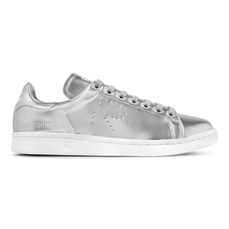 shoes raf simons adidas adidas shoes silver shoes silver silver sneakers
