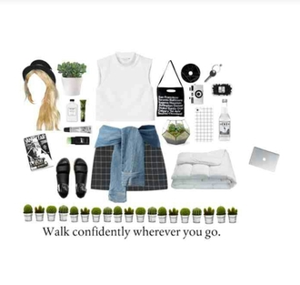 grunge aesthetic alternative pale grid skirt sandals phone cover on point clothing grunge clothing