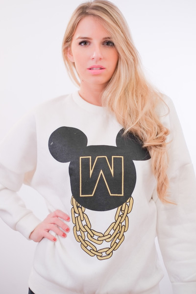 Minnie & Chains Sweatshirt – Glamzelle