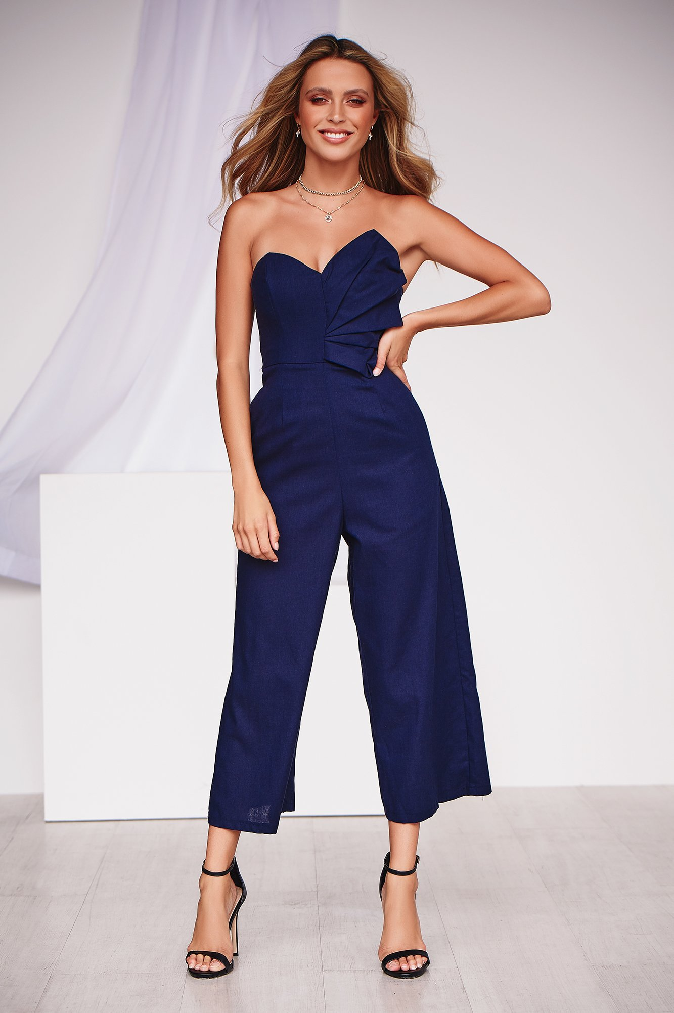 When The Doves Cry Jumpsuit (Navy)