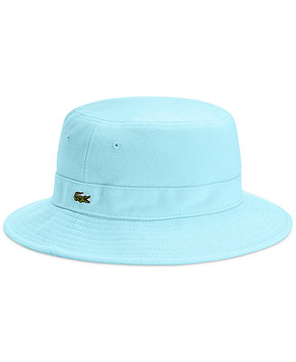 Lacoste Pique Bucket Cap - Hats, Gloves & Scarves - Men - Macy's