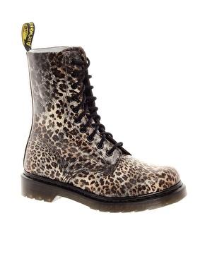 Dr Martens | Dr.Martens Leopard 1490 Print Boot at ASOS