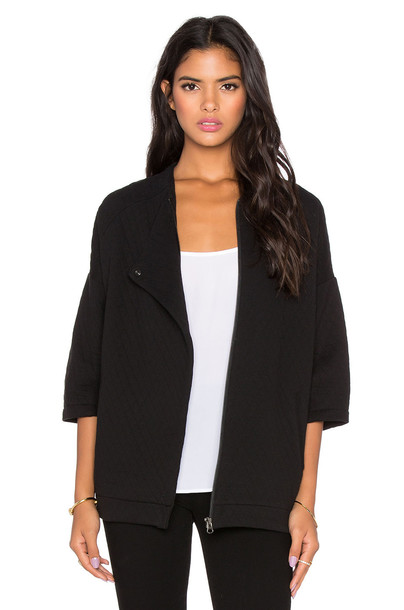 Bella Luxx jacket oversized quilted black