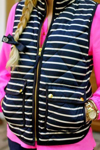 jacket vest navyblue