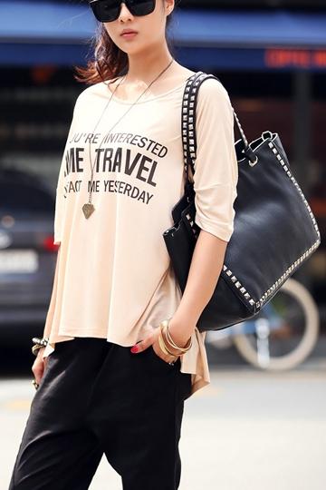 Stylish Rivet Details Zippered Handbag [FPB621] - PersunMall.com