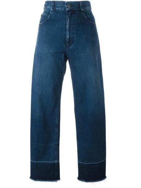 Rachel Comey - 'Legion' jeans - women - Cotton - 0, Blue, Cotton