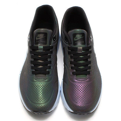 2015NIKE Air Max 1 Ultra Moire QS Iridescent Men 7 10 5 Holographic 777428 200 | eBay