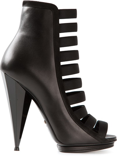 Gucci Strappy Ankle Boot - Emerson Renaldi - Farfetch.com