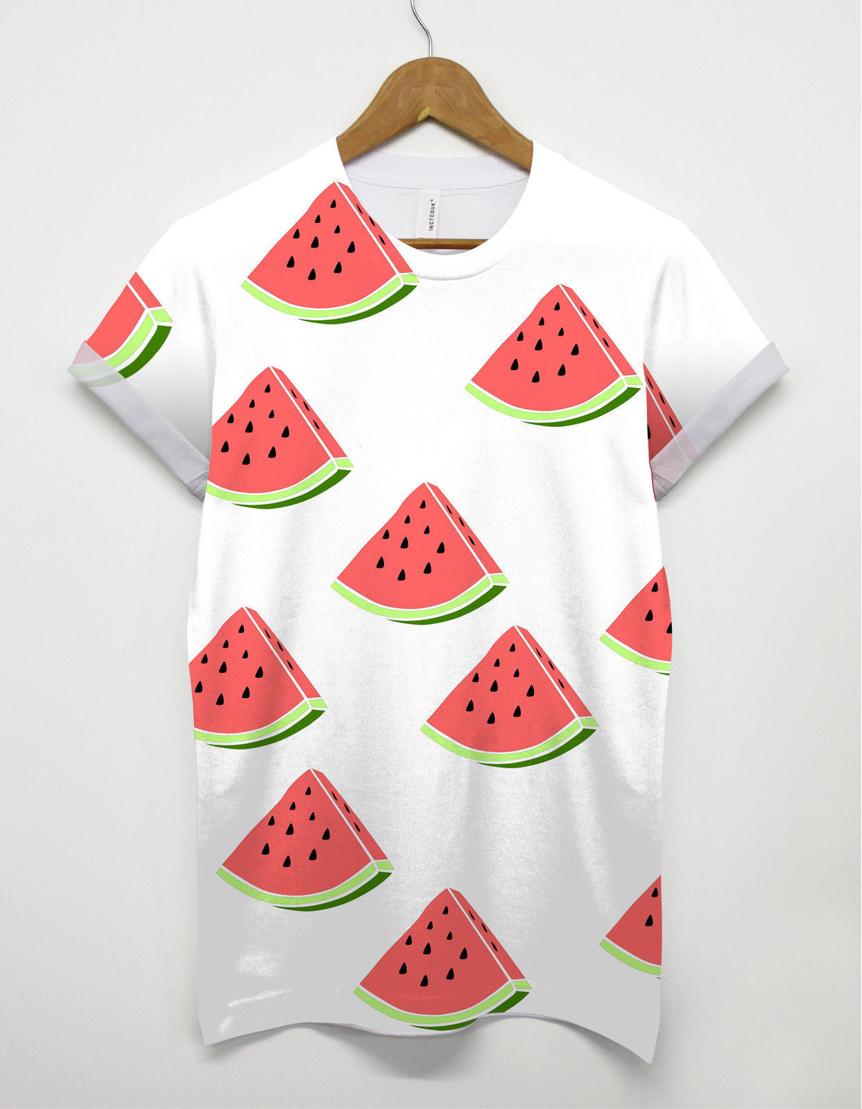 watermelon all over t shirt summer fruit holiday festival. Black Bedroom Furniture Sets. Home Design Ideas
