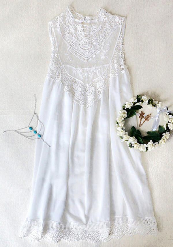 dress mini dress lace dress chiffon dress hair accessory