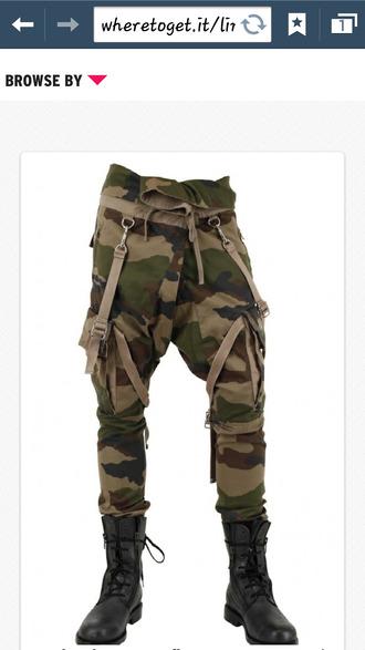 pants camouflage balmain cargo pants jeans
