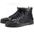 Best Selling Christian Louboutin Louis Studded Hi-Top Sneakers All Black - Luxury Bridal Shoes