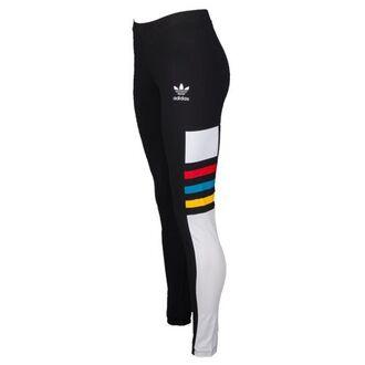 tights leggings adidas adidas originals red yellow blue black white