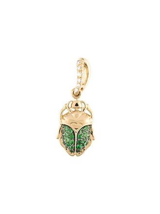 mini pendant green jewels