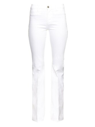 jeans flare jeans flare high white