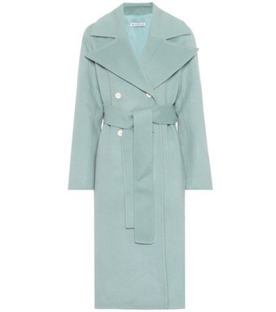 Rejina Pyo coat wool green