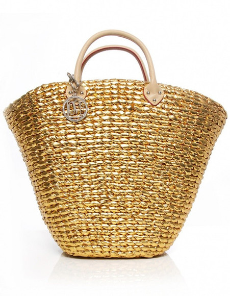 bag tote bag tote moschino gold