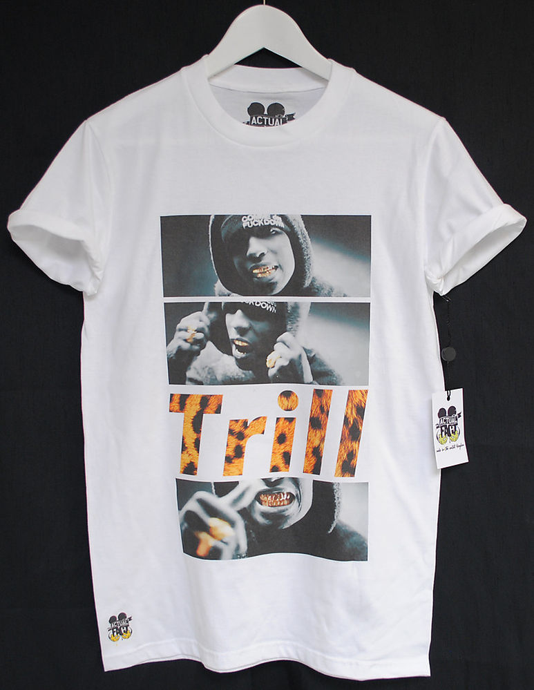 Actual Fact A$AP ASAP Rocky Trill Rap Hip Hop Tee T Shirt | eBay