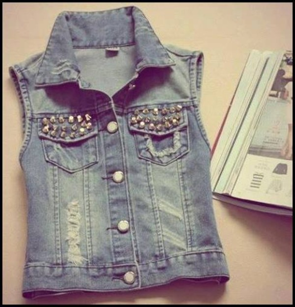 jacket denim jacket jeans nitted jasmine villegas