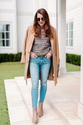 dallas wardrobe // fashion & lifestyle blog // dallas - fashion & lifestyle blog,blogger,coat,sweater,jeans,shoes,sunglasses,camel coat,fall outfits,winter outfits,winter sweater,ankle boots