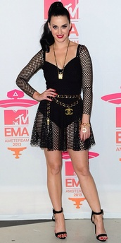 dress,mesh,fish,net,black,leotard,bodysuit,vma,mtv,katy perry,Katy,perry,celebrity,fashion,shoes