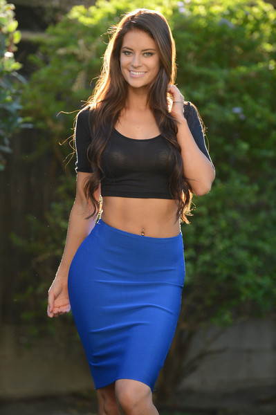 Fashion Nova Skirt Royal Blue Fashion Nova