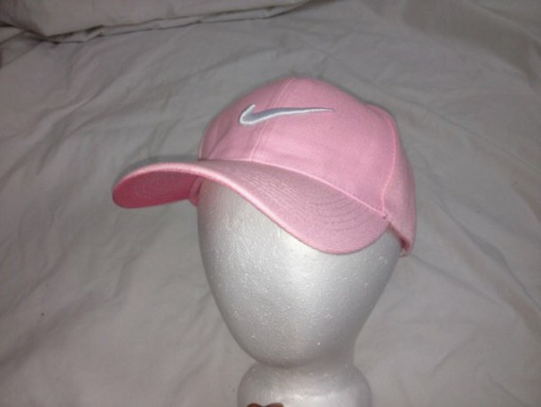 Nike - Baby pink Nike hat from Ashley s closet on Poshmark cdb0fe0ba29