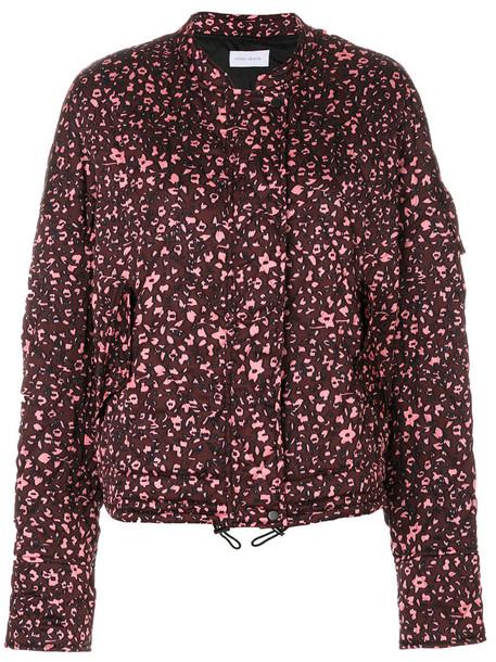 Christian Wijnants - Jady jacket - women - Polyester/Viscose - 38, Pink/Purple, Polyester/Viscose