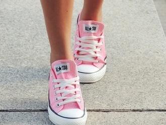 shoes pastel pink allstars summer allstars converse
