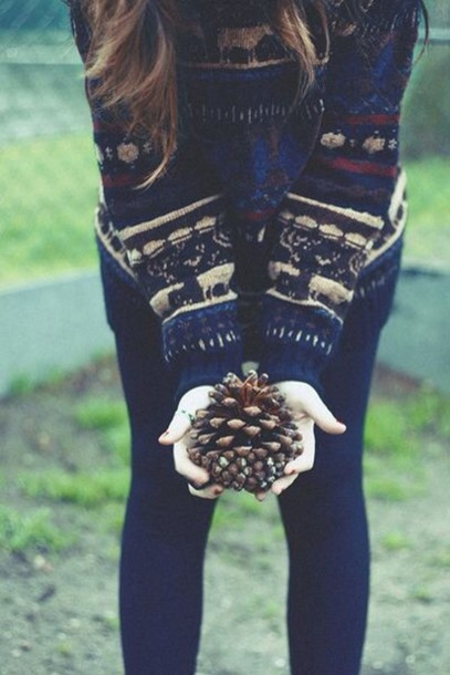 hipster sweater jumper xmas autummn fall outfits fall outfits cozy warm sweater weather leggings