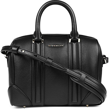 GIVENCHY - Lucrezia Sandy small leather bowling bag | Selfridges.com