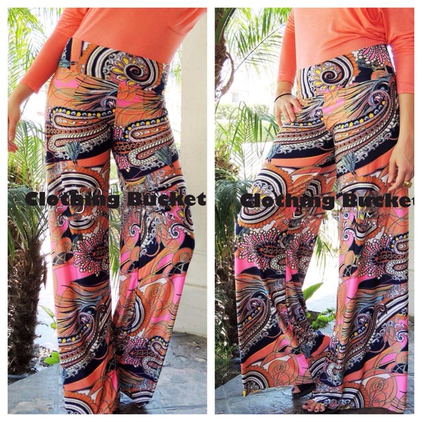 palazzo pants formal formal wera paisley paisley bohemian fall pants flared leg flare