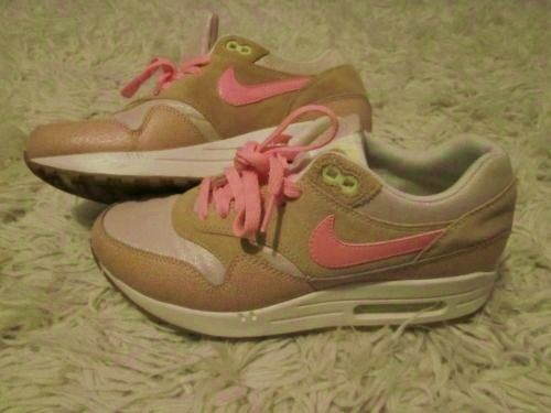 Nike Air Max 1 pink clay size 5 | eBay