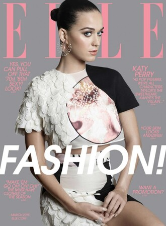 top katy perry skirt texture editorial crop tops