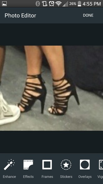 shoes kim kardashian shoes black heels lase sexy shoes