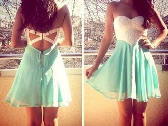 dress summer summer dress cute turquoise